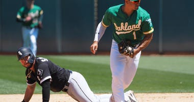 A's Edge White Sox, 3-2, For Series Sweep