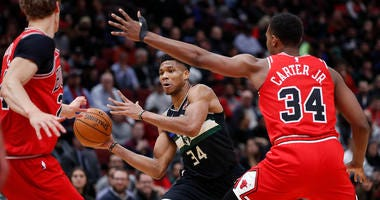 Bulls Fall To Bucks, 115-101
