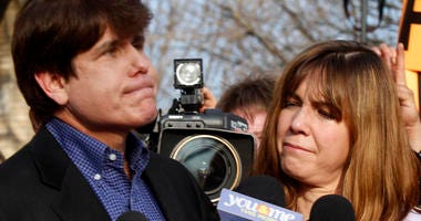 Rod and Patti Blagojevich 2012