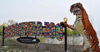 Brick Safari at Brookfield Zoo