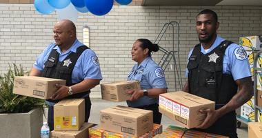 CPD Stuff the Squad food drive