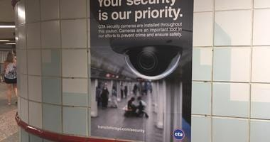 CTA cams Red Line