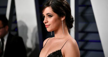 Camila Cabello attends the 2019 Vanity Fair Oscar Party hosted by Radhika Jones at Wallis Annenberg Center for the Performing Arts on February 24, 2019 in Beverly Hills, California