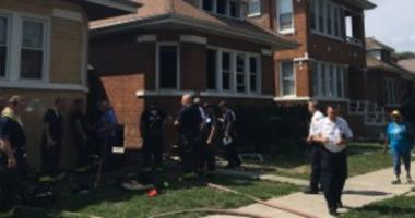 A 3-year-old boy was killed in a fire Saturday afternoon in the 6900 block of South Artesian
