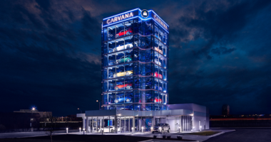 Carvana Opens Newest Car Vending Machine In Chicago Suburb