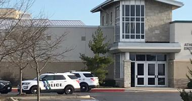 Officers responded to Batavia High School Monday morning due to reports of an unknown male with a rifle entering the school