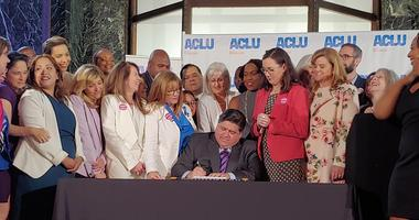 Governor JB Pritzker signed Wednesday the Reproductive Health Act into law.