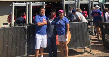 The Padillas are celebrating the upcoming adoption of Diego, 13, with a Make-A-Wish foundation trip to a Cubs game.