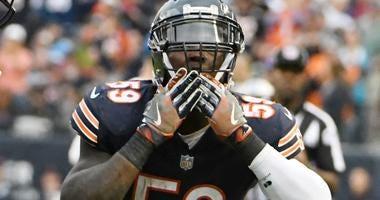 Bears linebacker Danny Trevathan