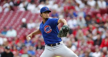Yu Darvish Solid, But Reds Rally Past Cubs, 6-5