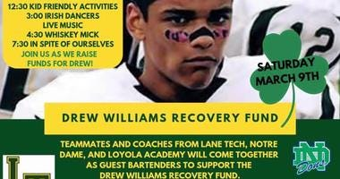 City's Edge holds fundraiser for Drew Williams rehabilitation