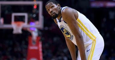 Warriors forward Kevin Durant is expected to be the most coveted free agent in 2019.