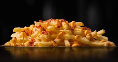 McDonald's French Fries With Cheese, Bacon
