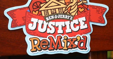 Ben & Jerry's announced a new flavor, Justice Remix'd, at a press conference September 03, 2019 in Washington, DC.