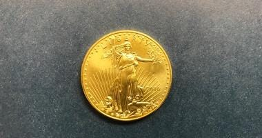 Salvation Army of Chicago received its first gold coin donation this season Nov. 8, 2019, in Crystal Lake