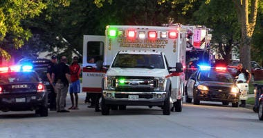Police investigate multiple people stabbed Sept. 2, 2019, in the 100 block of North Pamela Drive in Chicago Heights.