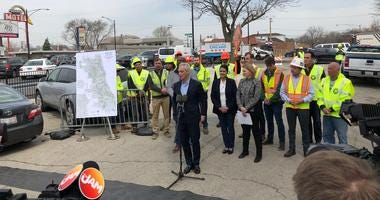 The city has an ambitious plan for road re-surfacing this construction season and the mayor is offering apologies in advance of all the disruption.