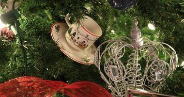 England Tree at Christmas Around The World