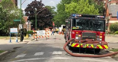 Gas Main Break in Burnside
