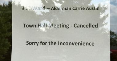 Ald. Austin Cancels Community Meeting
