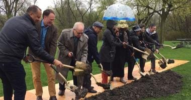 Ground Breaks On Palos Heights Flood Control Project