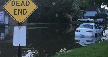 Steger Flooding