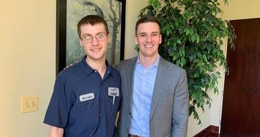 Aaron Maley and Greg Hart, DuPage County's RAMP-UP program