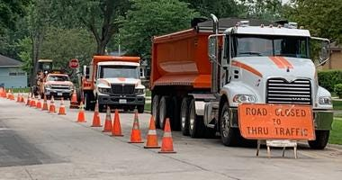 Nearly two dozen water mains that began breaking Friday in Arlington Heights, should all be repaired by the middle of the morning Monday, according to Mayor Tom Hayes.