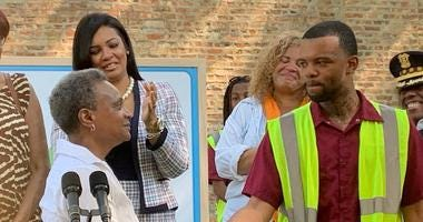 The City of Chicago is spearheading a new program that could bring beauty to dozens of vacant lots and peace to some young men who have been touched by gun violence.