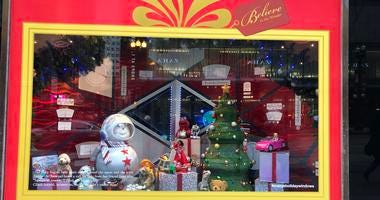 Macy's Holiday Windows Display