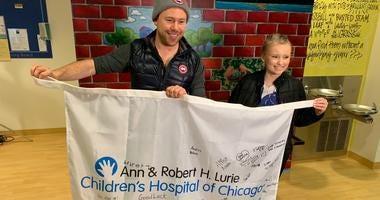 Alex Pancoe at Lurie Children's
