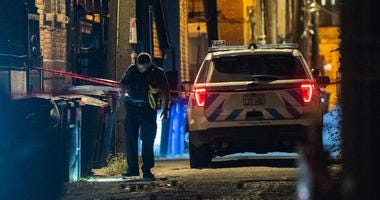 A man was found shot to death Tuesday in Pilsen on the Near West Side.