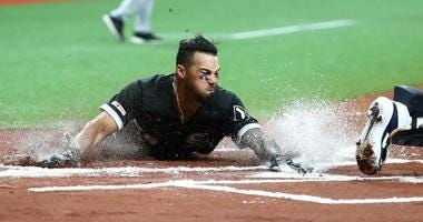 The White Sox broke a seven-game losing streak out of the All-Star break.