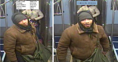 This man allegedly attacked a 25-year-old woman on a train near the Red Line Addison station.