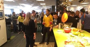 LaSalle Network Holds March Madness Party For Employees