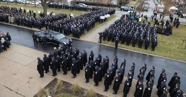 Officer Marmolejo funeral