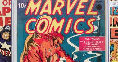First Marvel Comic