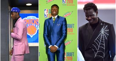 NBA Draft Fashion