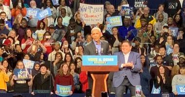 Barack Obama headlines GOTV rally