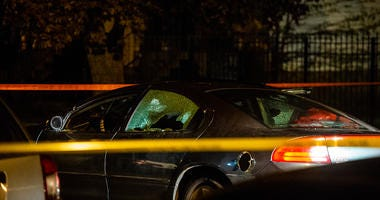 A man and woman were injured Tuesday after being shot in South Chicago.