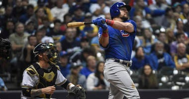 Schwarber Hits Grand Slam In 10-5 Cubs Win Over Milwaukee