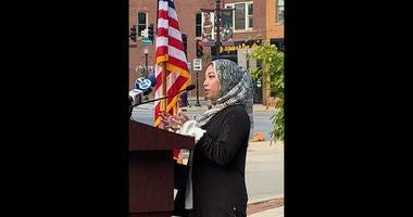 Shaila Zerin-Anwar, an Aurora resident, an American-Muslim, and a 9-11 survivor.