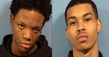 2 men charged in armed carjacking at Woodridge gas station