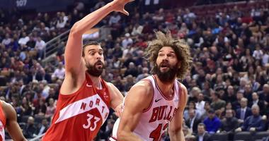 Raptors Beat Bulls, 112-103
