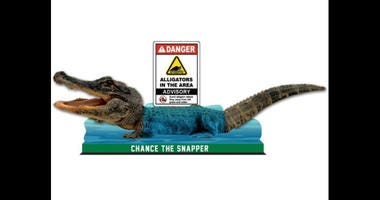 """Chance the Snapper"" bobblehead"