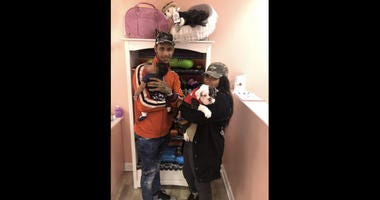 Police are hoping to locate a couple believed to have stolen a puppy from a pet store in suburban Aurora.