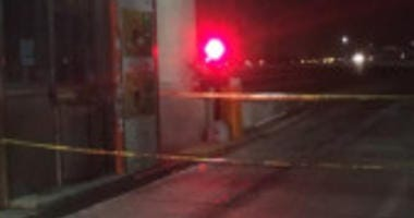 A woman was pinned by her own SUV Saturday night at the West Point Toll Plaza near the Indiana-Illinois border. | Indiana State Police