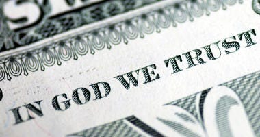 """""""In God We Trust,"""" on money doesn't amount to a religious endorsement, so it doesn't violate the U.S. Constitution"""