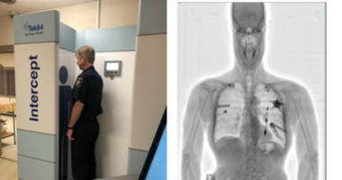 With the purchase of a new TEK84 Intercept X-ray imaging system, DuPage County Sheriff James Mendrick is hoping to end current procedures for searching inmates, including invasive and often embarrassing practices of physical or strip searches of inmates.