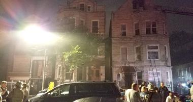 Several people died in a fire early Sunday in the Little Village neighborhood. | Chicago Fire Media Affairs